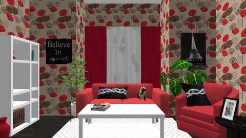 mine - Living room - by Lori Hallman Douglas
