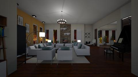 Design 15 VIOLETTA - Modern - Living room - by michellitamuralles