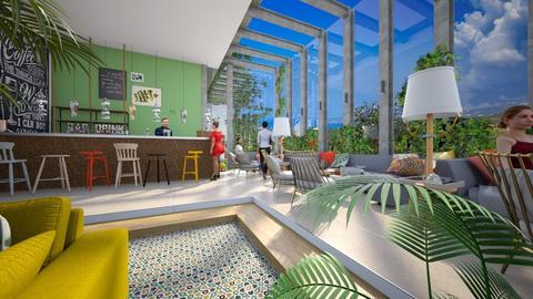 Pru Lounge and Relax - Office - by Gwenda van Maaren