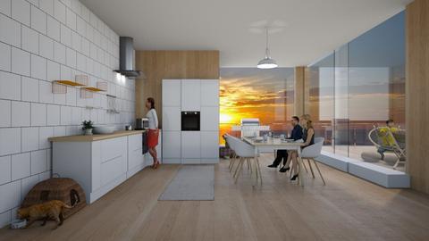 modern kitchen - by shelleycaitlin