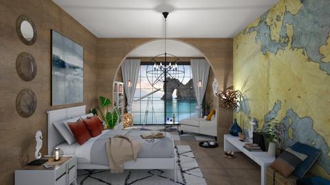 Nautical Bedroom - Eclectic - Bedroom - by Roquette