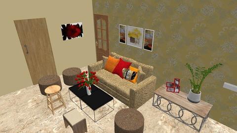 Darshan New 2 - Rustic - Living room - by jiltsheth