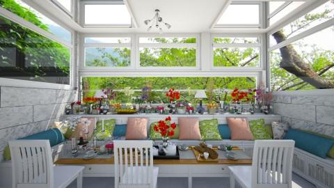 Spring Breakfast - Rustic - Dining room - by deleted_1536076557_Nicol26