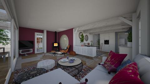 Ibiza Home procject - Kitchen - by Lisett