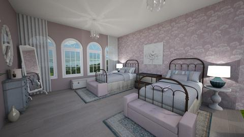 Shabby Chic Bedroom - by atelierwest