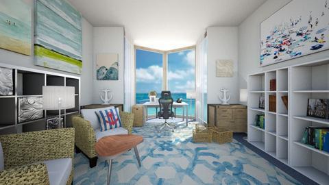 Beach Office - Office - by sjm2025ozark