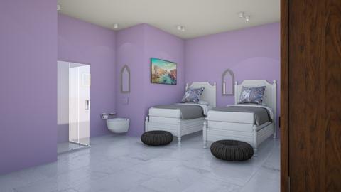 lavender love - Bedroom - by wesern wind