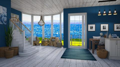 Nautical Home - Living room - by lilyamc