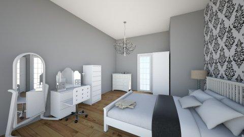 White  - Minimal - Bedroom - by Kamila Walker