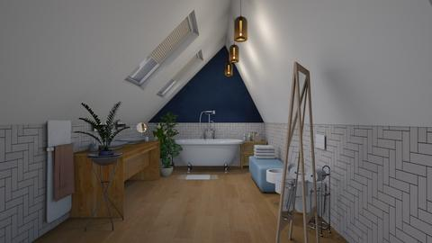 Touch of blue - Eclectic - Bathroom - by augustmoon