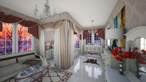Royale Dorm - Glamour - Bedroom - by Veny Mully
