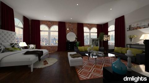 NYC Studio - Living room - by DMLights-user-1564420