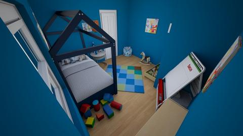 A Boys Toddler Room - Classic - Kids room - by micarlie