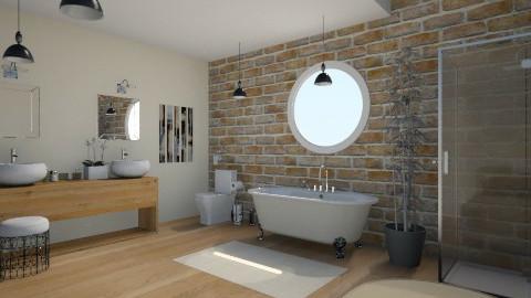 cream - Bathroom - by lucyjalloh