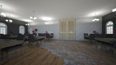 restaurant - Dining room - by kyanavdp