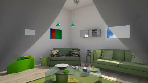 Kiwi - Living room - by jnapruitt