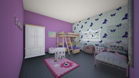 purple room - Kids room - by Annie_Anne