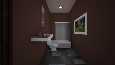 rustic kids bathroom - Rustic - Bathroom - by shadowscythe