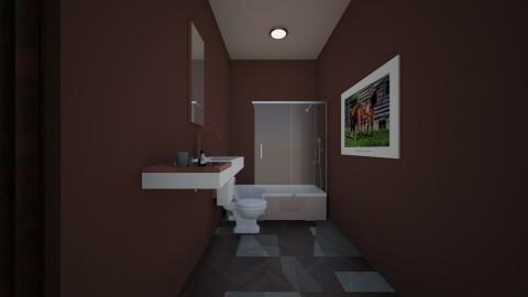 rustic kids bathroom - Rustic - Bathroom - by shadowscythe