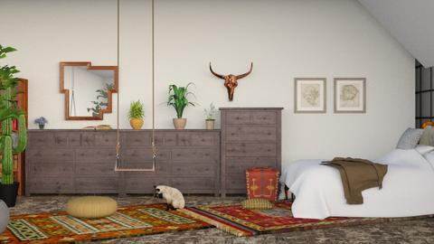 style_Boheme - Bedroom - by elephant in savanna