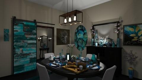Dining Room  - Modern - Dining room - by Kelly Carter