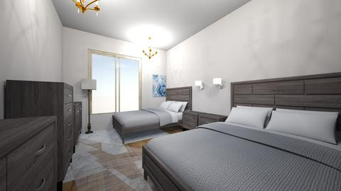fancy modern hotel suite  - Modern - Office - by jade1111