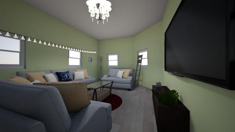 loving living space - Living room - by Zaria UwU
