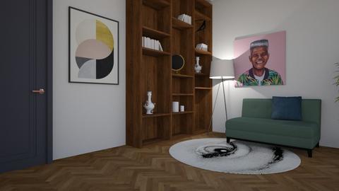 Projekt UTH - Living room - by agatapietrzaak