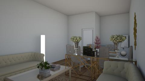 Tin living room other sid - Minimal - Living room - by kristine07