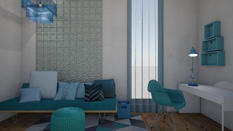 Small Living Space 1 - Modern - Living room - by XiraFizade