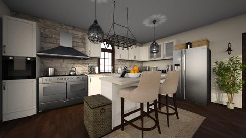 Dream Kitchen - Vintage - Kitchen - by MessyArtwok