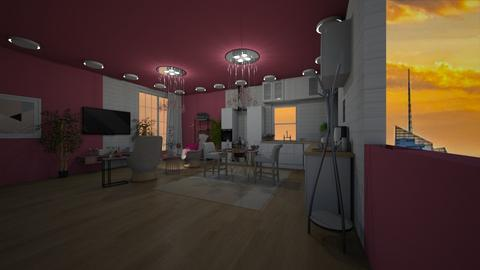 new yourk pink - Living room - by joja12345678910