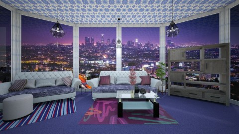 Los Angeles66 - Masculine - Living room - by lori gilluly