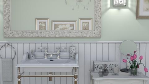 Country Bath - Bathroom - by GraceKathryn