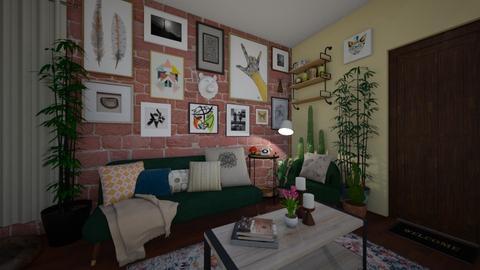Trendy Living Space - Minimal - Living room - by Jodie Scalf