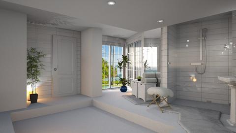White Bathroom detail - by ZsuzsannaCs