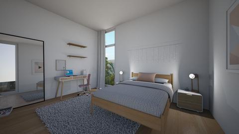 teen bedroom - Bedroom - by oggienarna