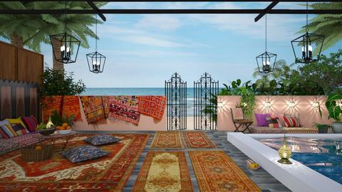 sea views  - Eclectic - Garden - by Ida Dzanovic