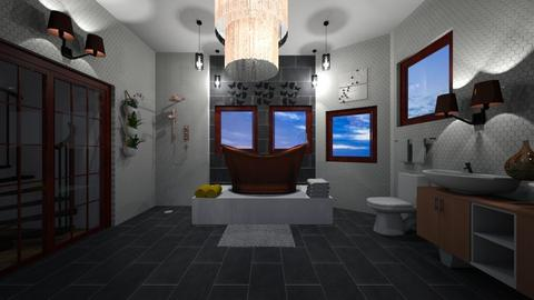 Attic Bathroom - Bathroom - by mcdcha22