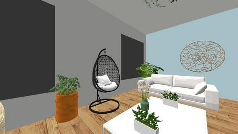 room1 - Living room - by madienichole