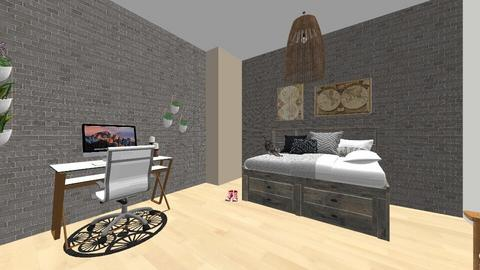 Bedroom - Minimal - Bedroom - by katestevenson