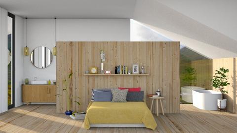 Manali - Rustic - Bedroom - by sabaclayes
