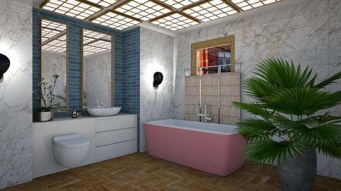 Modern Eclectic Bath - Modern - Bathroom - by 3rdfloor