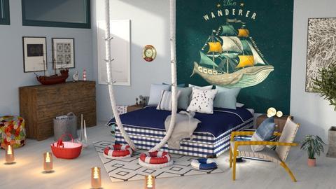 NauticalBedroom - by jasmin_jasmin