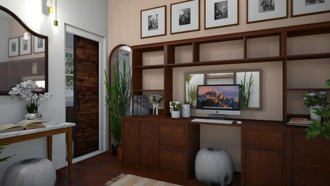 Wooden Work Space - Office - by _PeaceLady_