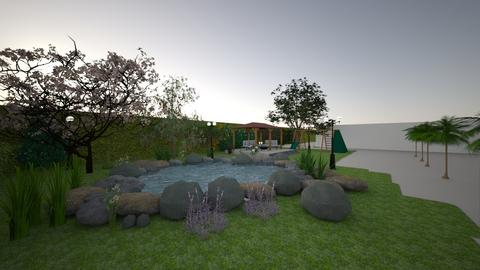 garden - by kamilaborges