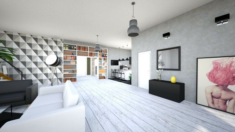 Modern House - Modern - Living room - by agnieszka_giez