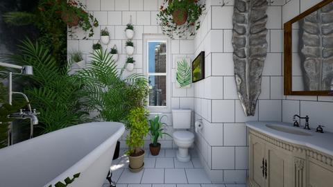 Urban Jungle Bathroom 3 - Bathroom - by SammyJPili