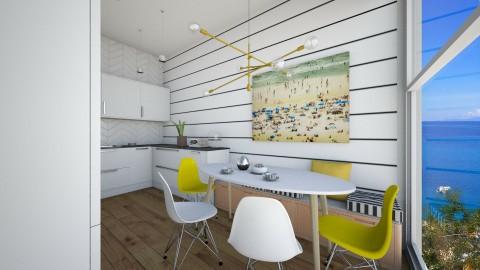 Kitchen - by Cristina Mazilu