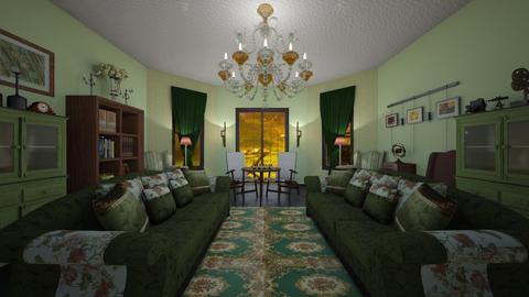 Sitting Room - Vintage - Living room - by kristenaK